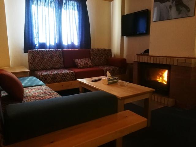 L'Escale du Mzaar Chalets One Bedroom Living Area