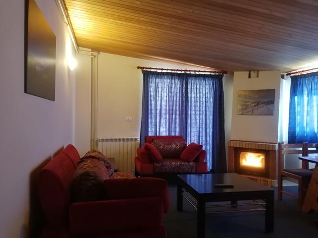 L'Escale du Mzaar Chalets Two Bedroom Living Area