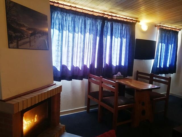 L'Escale du Mzaar Chalets Fireplace Two Bedroom Chalet