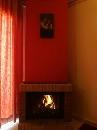 L'Escale du Mzaar Chalets Deluxe Studio Fireplace
