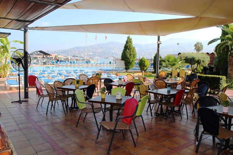 Bel Azur Hotel Bel Azur Outdoor Restaurant