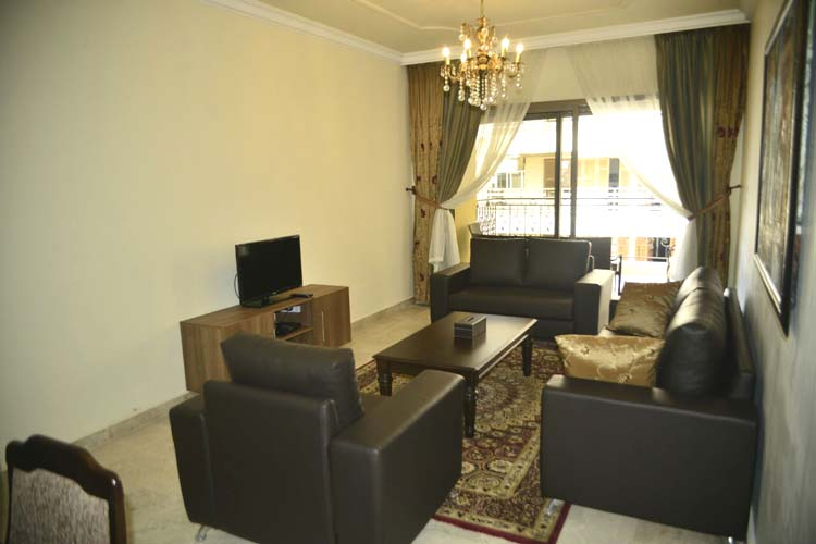Hanno Residence Suites' Sitting Area