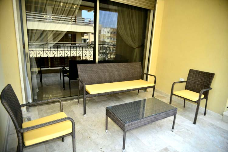 Hanno Residence Suites' Terrace