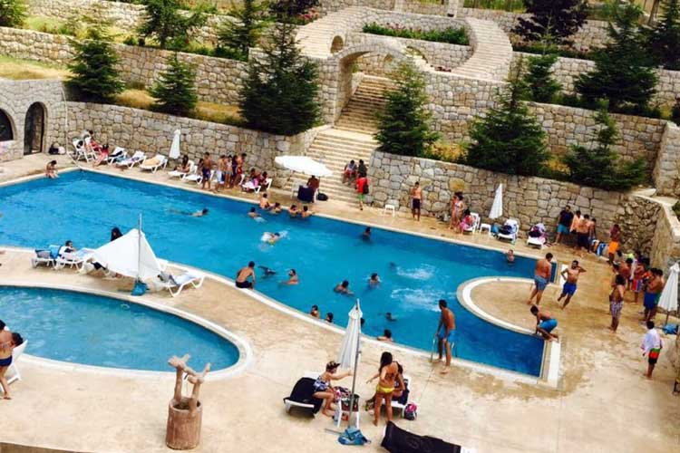 Snowland Outdoor Heated Pool