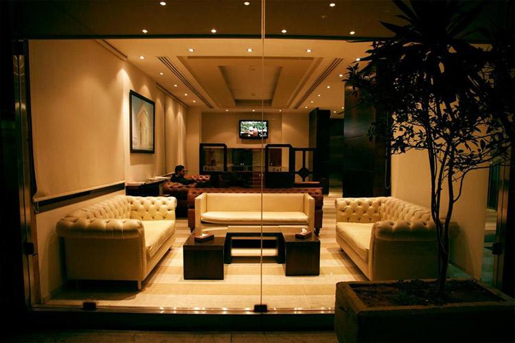 The Parisian Hotel Lobby