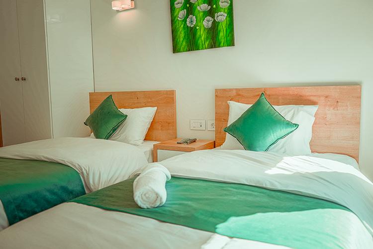 Villa John Twin beds