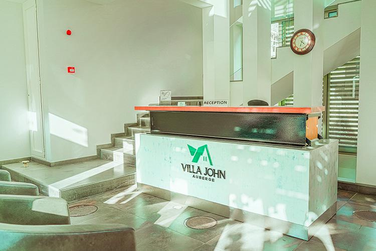 Villa John Reception area