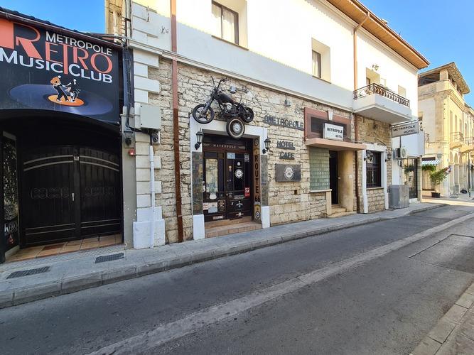 Metropole Hotel Entrance