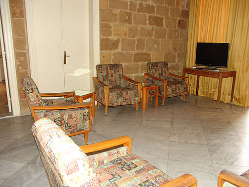 Pension Al Koura Living area