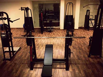 The Lodge Inn Faraya Gym