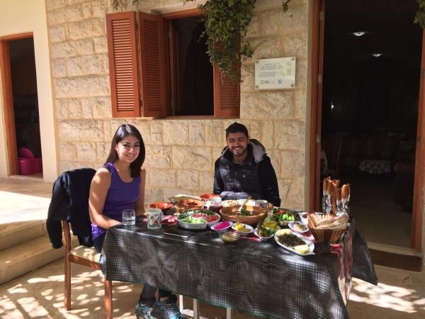 Boustany Guesthouse Breakfast