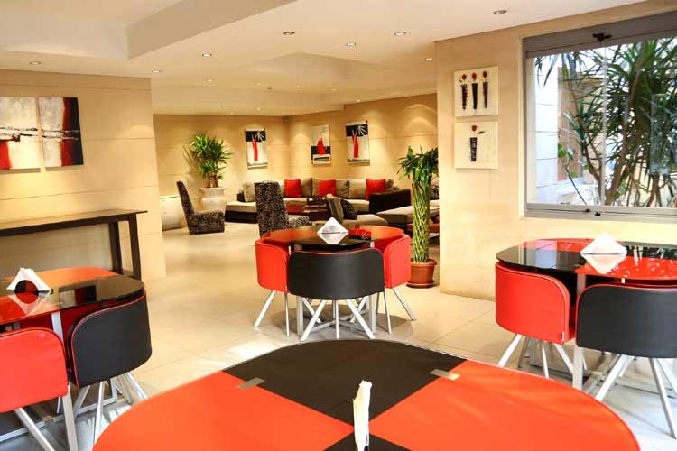 Sky Suites Hotel Lobby