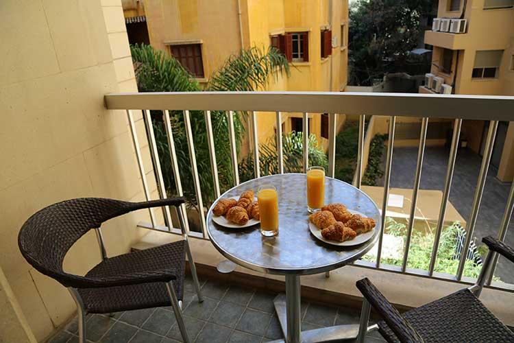 Sky Suites Hotel Balcony
