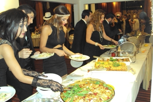 Victory Byblos Hotel and Spa Buffet Dinner private event