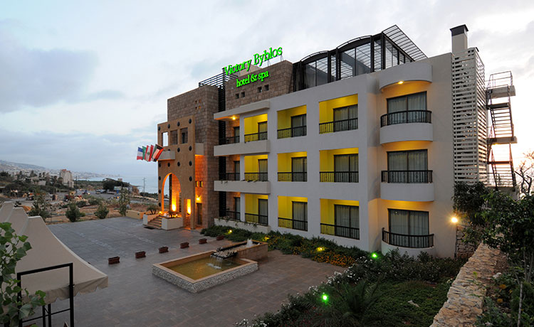 Victory Byblos Hotel and Spa Main hotel facade