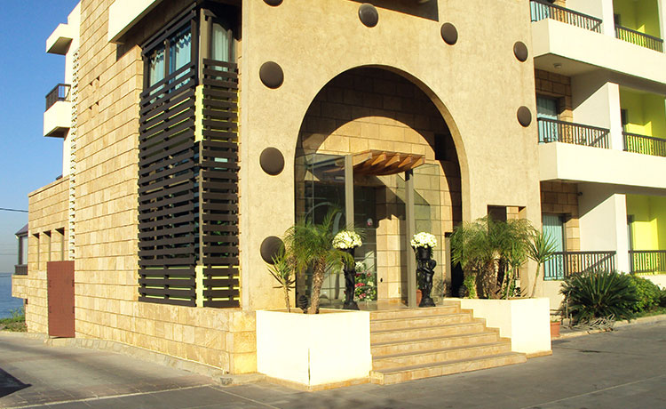 Victory Byblos Hotel and Spa Main hotel entrance