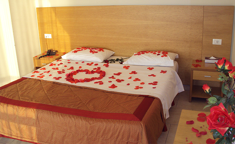 Victory Byblos Hotel and Spa Honeymoon decoration