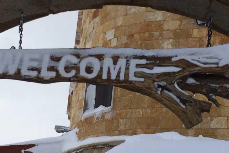 Auberge le Valais Faraya Welcome