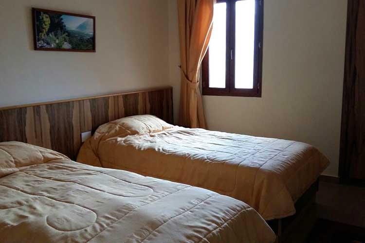 Auberge le Valais Faraya Twin room