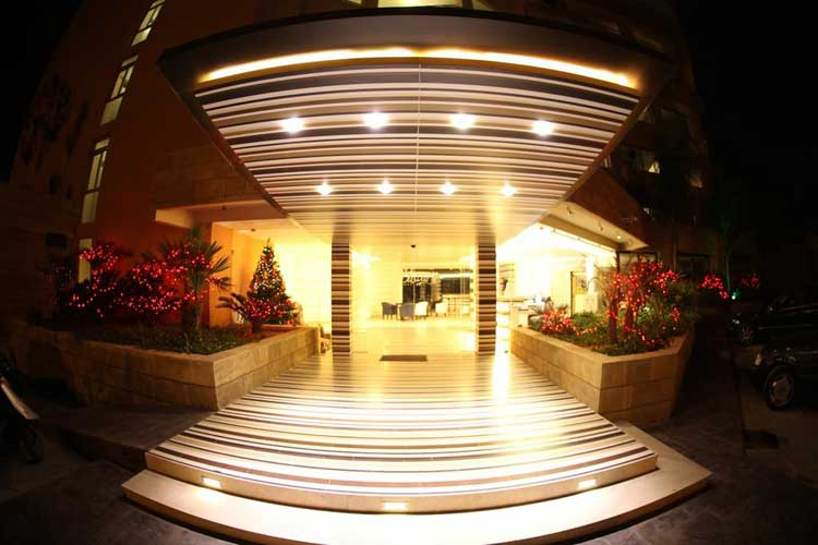 Sawary Resort and Hotel Entrance