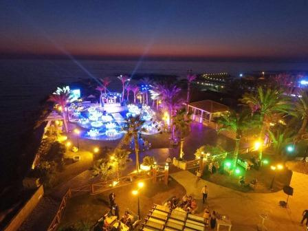 Sawary Resort and Hotel Aerial View Wedding Venue