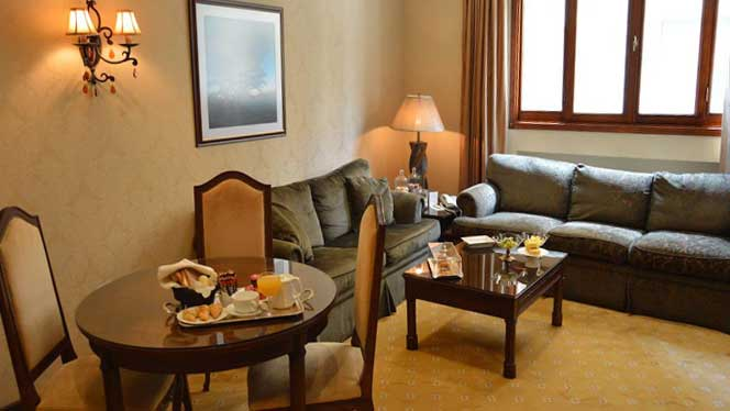 Etoile Suites Living Area