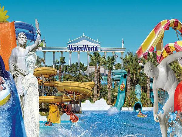 WaterWorld themed waterpark, Cyprus