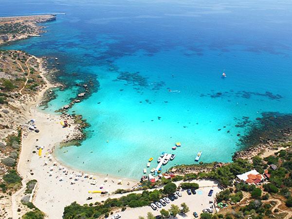 Konnos bay , Cyprus