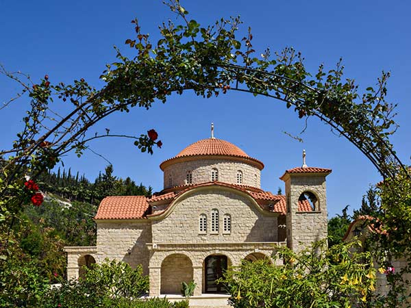 Monastery Of Agios Georgios Alamanos, Cyprus