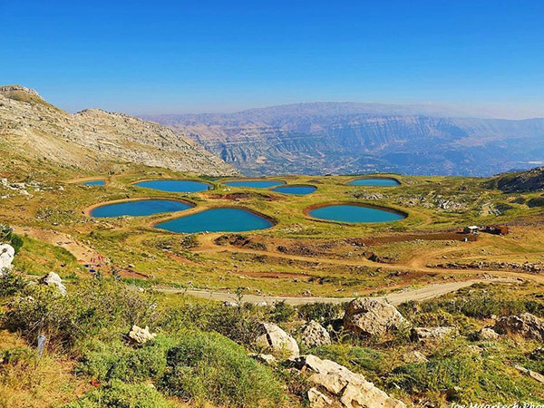 Laklouk Lakes, Lebanon