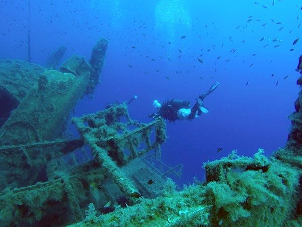 MS Zenobia Wreck, Cyprus
