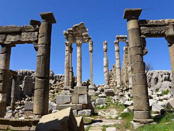 Faqra Roman Temple, Lebanon