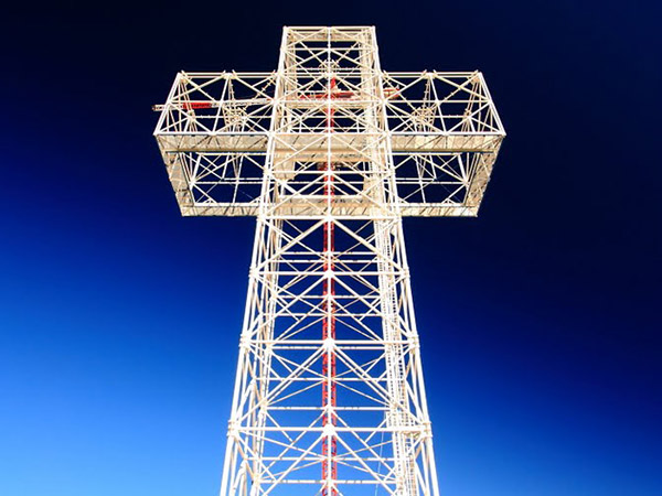 Largest Light Cross in The Middle East, Lebanon